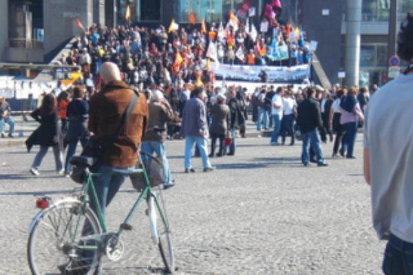 מהומות לכאורה בכיכר המדינה / מפריזה