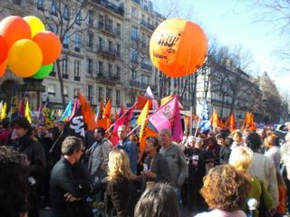 ההפגנה בבולוואר בומרשה