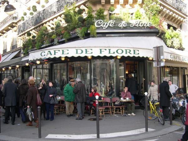 קפה דה פלור בסן ז'רמן דה פרה. בעקבות סארטר ובובואר