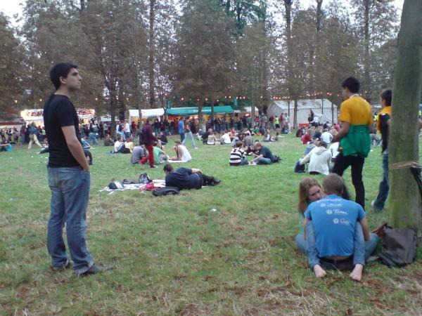 רוק על הסן 2008. מדשאות מרווחות
