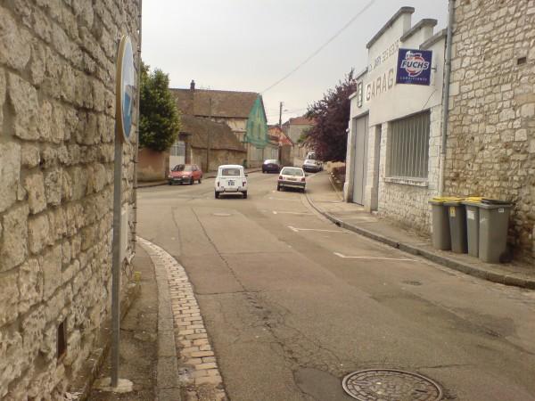 הרחובות הסמוכים לבית הלילך. אולדיז