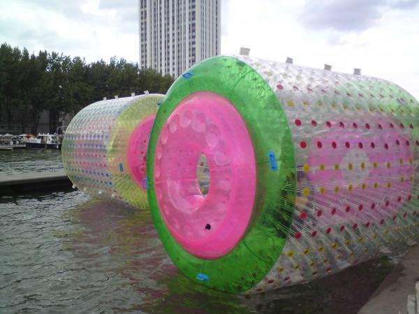 גלגל במים. פרי פלז' בלה-וילאט
