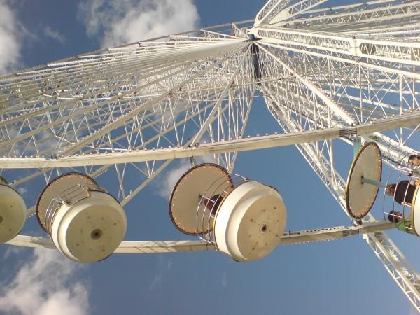 הגלגל הענק בטיולרי. שווה לאללה