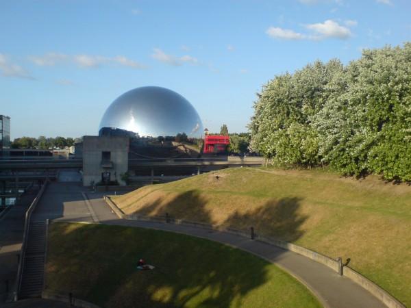 הז'אוד, קולנוע 360 מעלות בפארק לה וילט