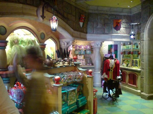 חנות של דיסני. אחת מעשרות