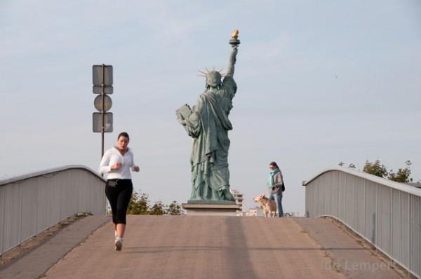 פסל החירות * צילום: עדו למפרט