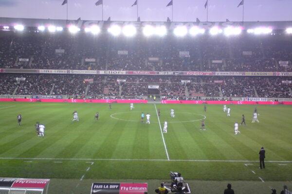 חוזרים לזירת הפשע: כדורגל בפארק דה פראנס