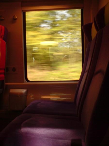 מחלון הרכבת. ז'יברני-מאנט לה ז'ולי 11