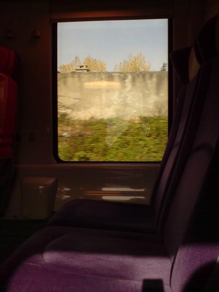 מחלון הרכבת. ז'יברני-מאנט לה ז'ולי 12
