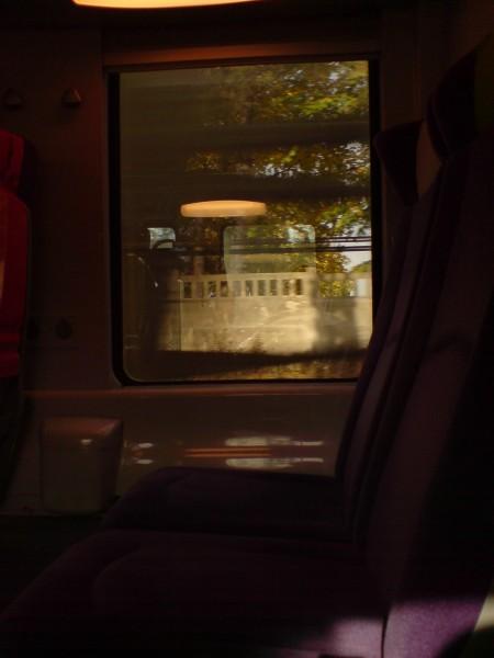 מחלון הרכבת. ז'יברני-מאנט לה ז'ולי 13
