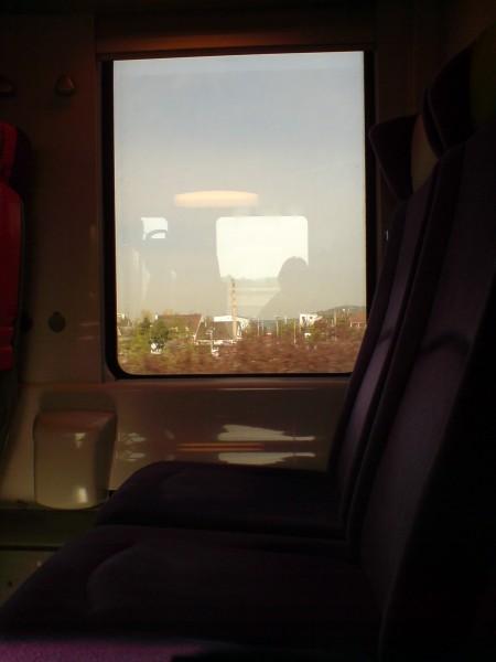 מחלון הרכבת. ז'יברני-מאנט לה ז'ולי 15