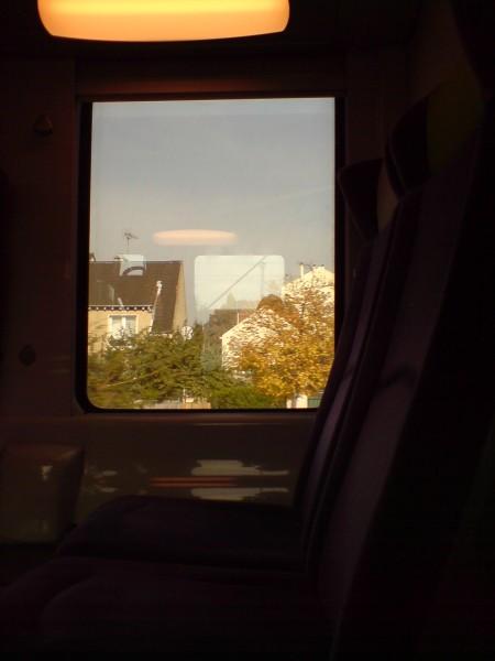 מחלון הרכבת. ז'יברני-מאנט לה ז'ולי 16