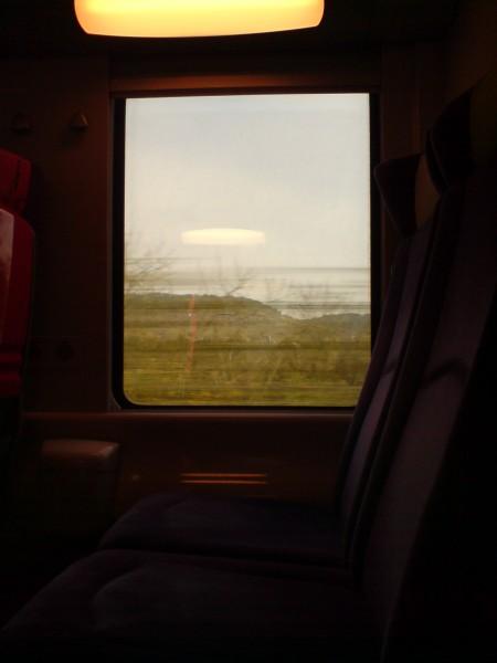 מחלון הרכבת. ז'יברני-מאנט לה ז'ולי 2