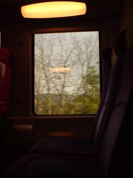 מחלון הרכבת. ז'יברני-מאנט לה ז'ולי 5