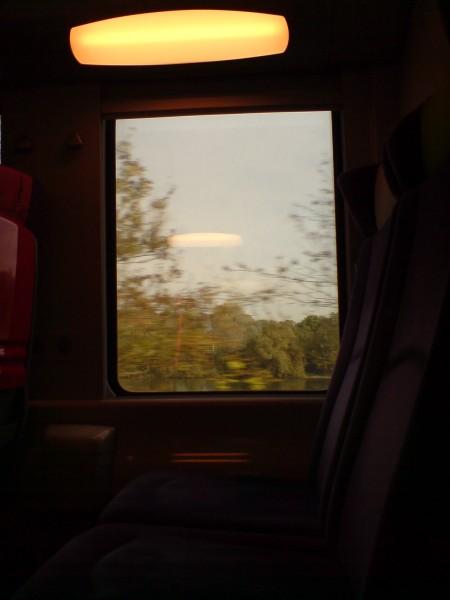 מחלון הרכבת. ז'יברני-מאנט לה ז'ולי 6