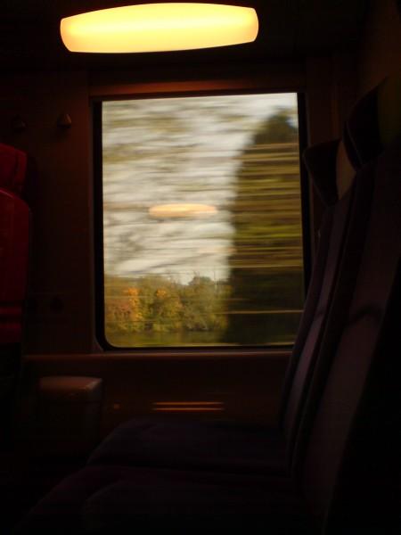 מחלון הרכבת. ז'יברני-מאנט לה ז'ולי 7