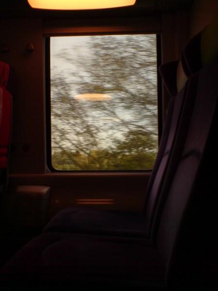 מחלון הרכבת. ז'יברני-מאנט לה ז'ולי 8