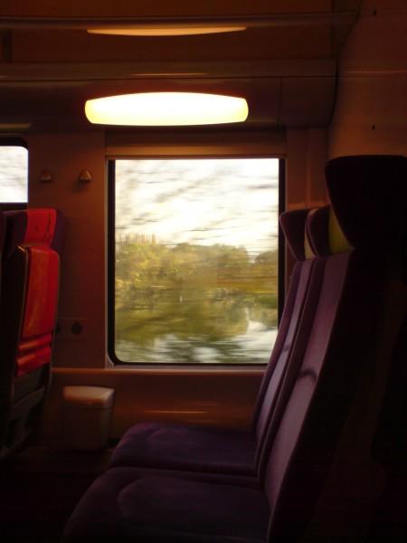 מחלון הרכבת. ז'יברני-מאנט לה ז'ולי 10