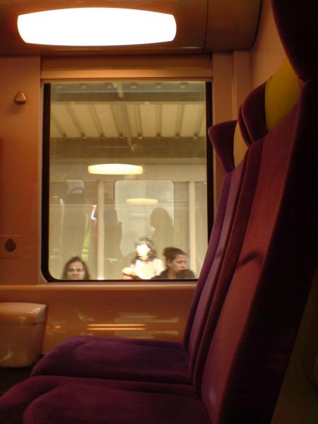 מחלון הרכבת. ז'יברני-מאנט לה ז'ולי 18