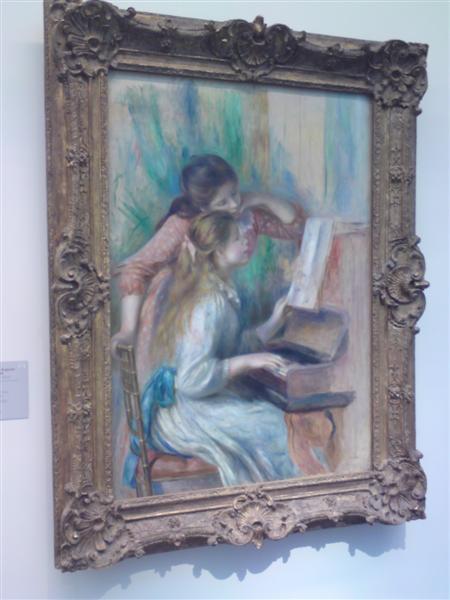 רנואר. Portrait de deux fillettes
