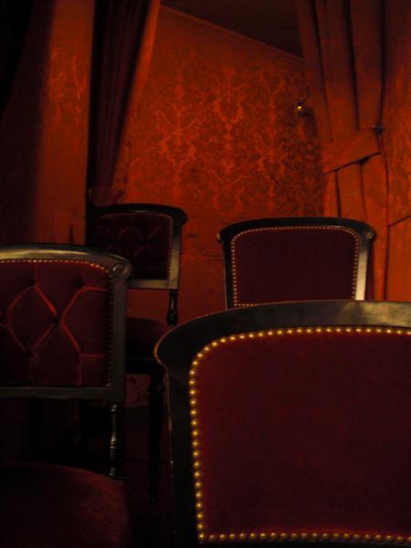 התא שלנו: קטיפה עתיקה בקומה השלישית של הארמון. אופרה גארנייה