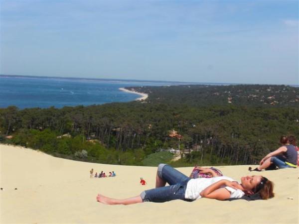 Dune de Pyla. יער, חול, ים וקצת עיר
