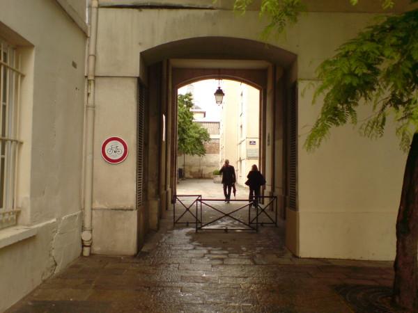הכניסה לרחוב הס