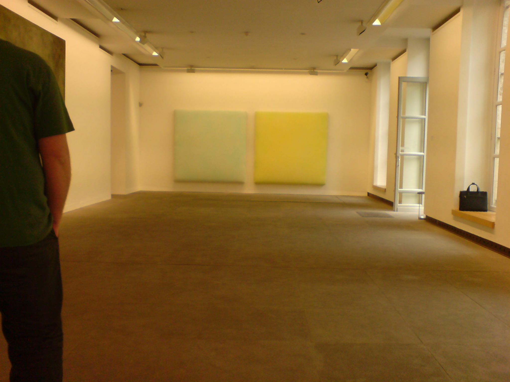 הציורים של גראובנר, וחצי מגבר אחד חתיך שעבר שם