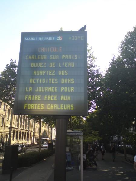 חמסין: חום על פריז. שתו מים, התאימו את הפעילויות שלכם כדי להתמודדד עם החום הכבד