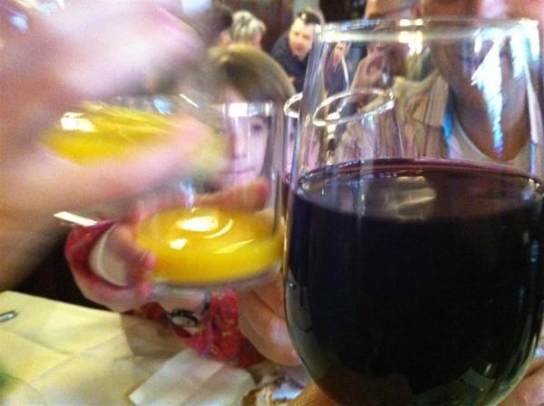 תפוזים ויין. בריאות
