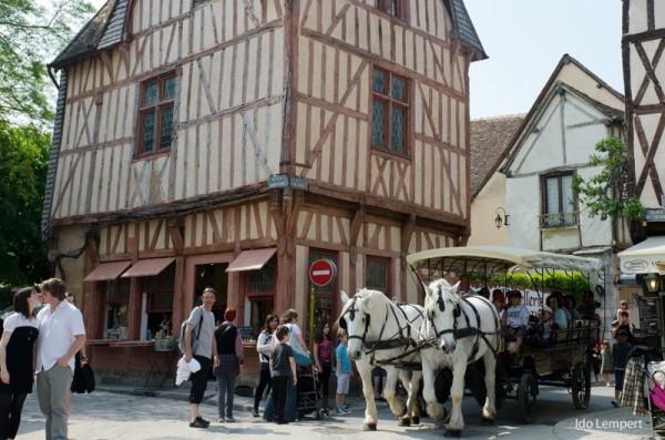 בתים מימי הביניים, סוסים ממש מעכשיו.